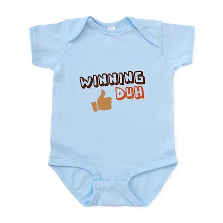 Duh Winning! Infant Bodysuit