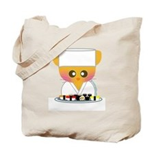 """Sushi Chef 2"" Tote Bag"