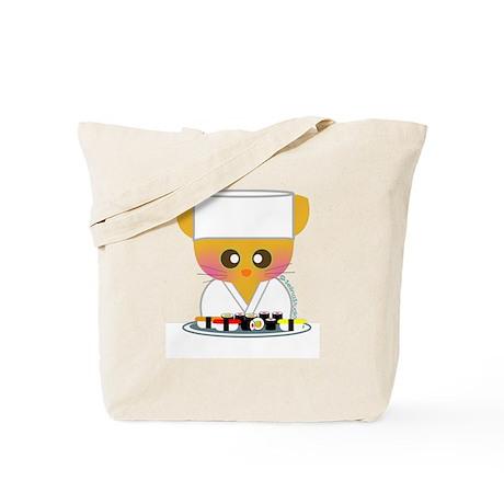 """Sushi Chef 2"" Tote Bag"