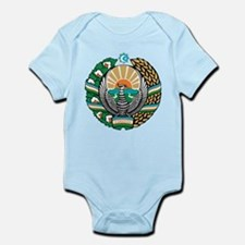 Uzbekistan Coat of Arms Infant Bodysuit