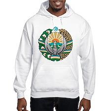 Uzbekistan Coat of Arms Hoodie