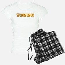 Winning by Charlie Sheen Pajamas