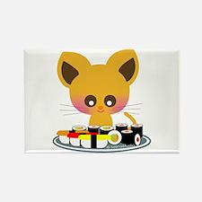 """I love Sushi"" Rectangle Magnet"