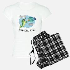 Topical Fish Pajamas