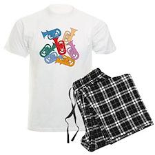 Colorful Euphoniums - pajamas