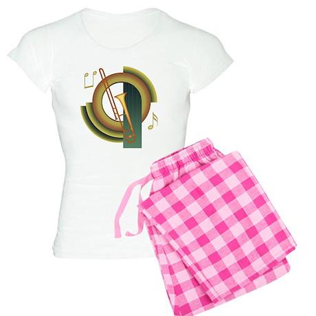 Trombone Deco Women's Light Pajamas