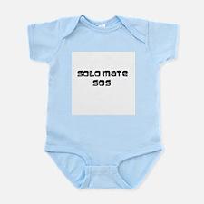 NIcaragua Wear Solo Mate Sos Infant Bodysuit