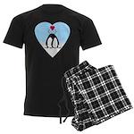 Loving Penguins Men's Dark Pajamas
