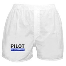 Pilot In The Making Boxer Shorts