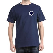 Star of David Roundel T-Shirt (Dark)