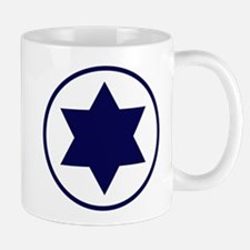 Star of David Roundel Mug