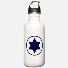 Star of David Roundel Water Bottle