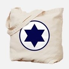 Star of David Roundel Tote Bag