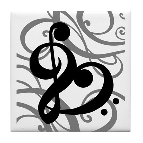 Music Lover Tile Coaster