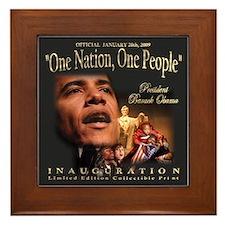 President Obama's Official Framed Tile