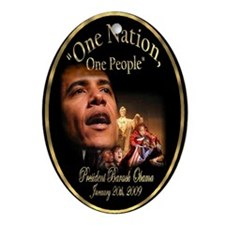 President Obama's Official Ornament (Oval)