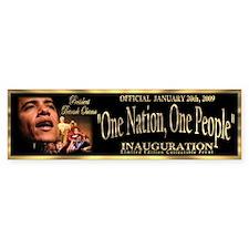 President Obama's Official Bumper Sticker