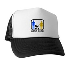 Game Over Marriage Married Ba Trucker Hat