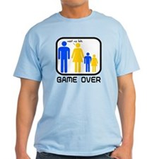 Game Over Marriage Married Ba T-Shirt
