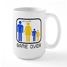 Game Over Marriage Married Ba Mug