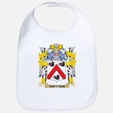 Trottier Family Crest - Coat of Arms Baby Bib