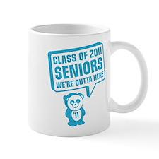 Cute Panda Graduation Mug