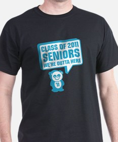 Cute Panda Graduation T-Shirt
