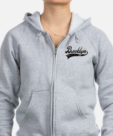 BROOKLYN NEW YORK Zipped Hoody