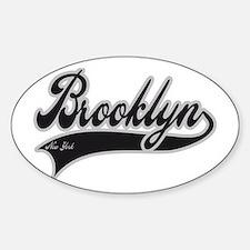BROOKLYN NEW YORK Sticker (Oval)