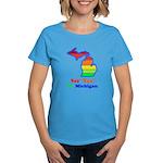 Say Yes To Michigan and The M Women's Dark T-Shirt