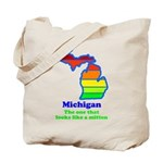 Say Yes To Michigan and The M Tote Bag