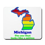 Say Yes To Michigan and The M Mousepad