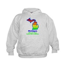 Say Yes To Michigan and The M Hoody