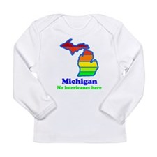 Say Yes To Michigan and The M Long Sleeve Infant T