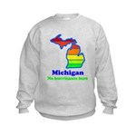 Say Yes To Michigan and The M Kids Sweatshirt