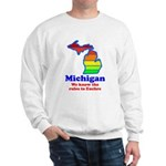 Say Yes To Michigan and The M Sweatshirt