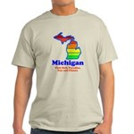 Say Yes To Michigan and The M Light T-Shirt