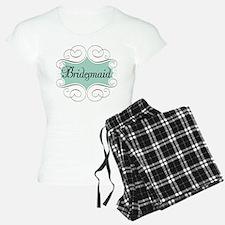 Beautiful Bridesmaid Pajamas