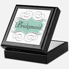 Beautiful Bridesmaid Keepsake Box
