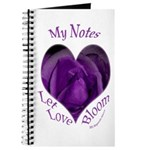 Jenny's Purple Roses, Let Love Bloom Journal
