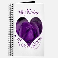 Jenny's Purple Roses, Let Love Bloom Journal