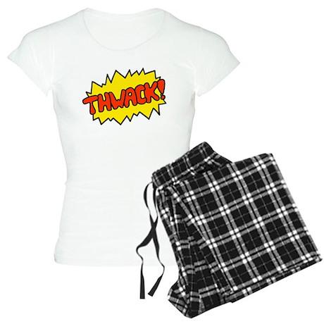 'Thwack!' Women's Light Pajamas