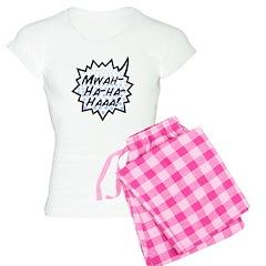 'Evil Laugh' Women's Light Pajamas