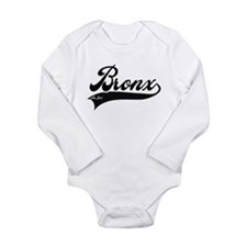 BRONX NEW YORK Long Sleeve Infant Bodysuit