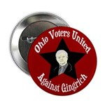 Ohio Voters Against Newt Gingrich campaign button