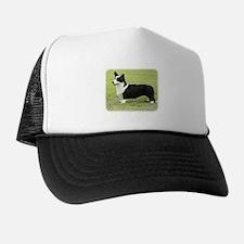 Welsh Corgi Cardigan 9Y501D-007 Trucker Hat