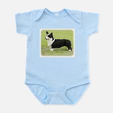 Welsh Corgi Cardigan 9Y501D-007 Infant Bodysuit