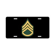Staff Sergeant License Plate