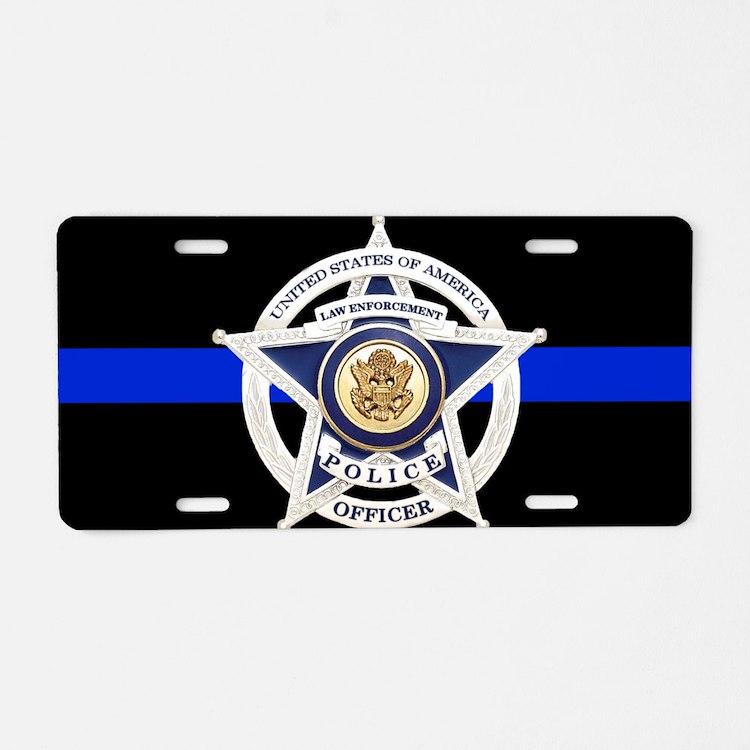 Law Enforcement License Plate