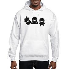 Like a Ninja Hoodie Sweatshirt